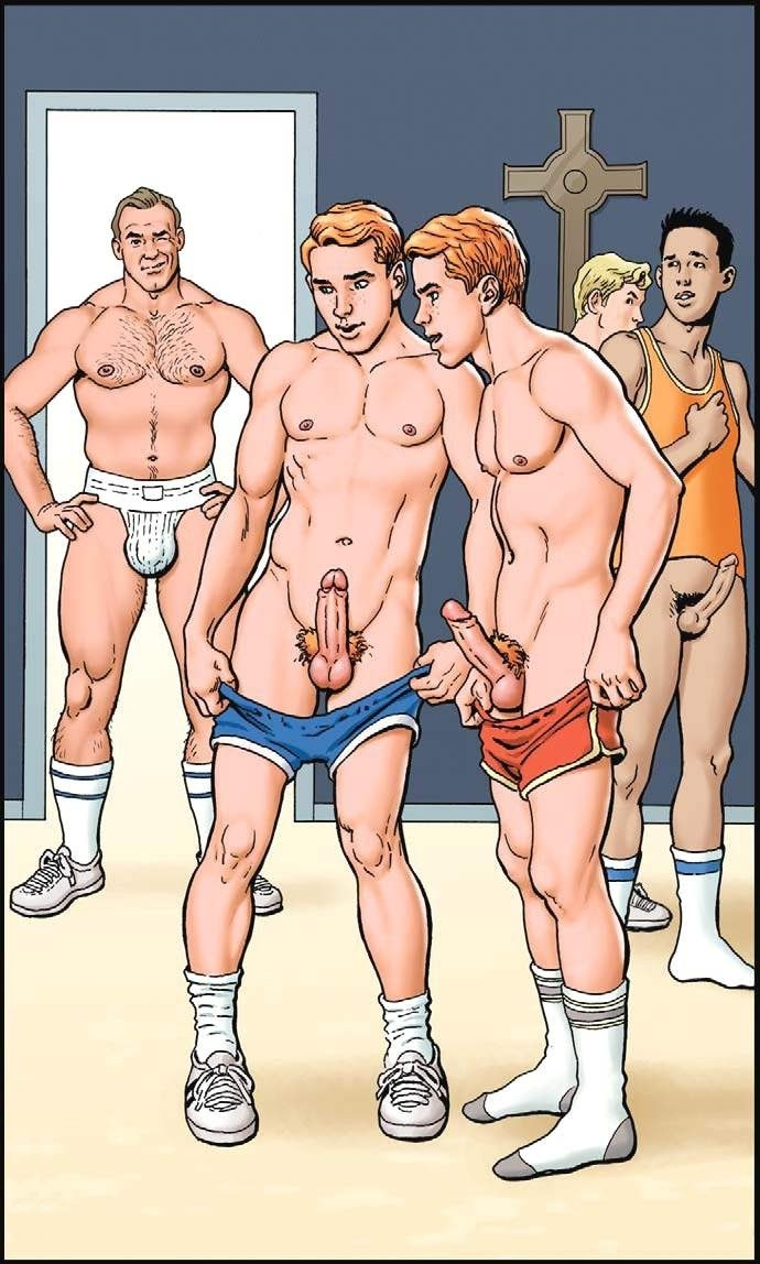 Гей Порно Два Брата Комикс Переодевание