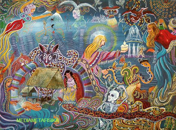 Ayahuasca, 'Ramuan Sakti' Menuju Gerbang Supranatural