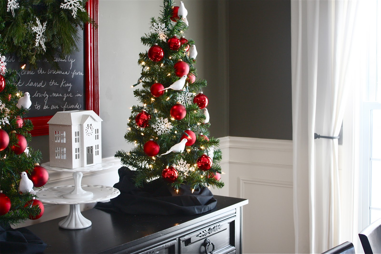 Christmas decoration ideas for a small house - Christmas Decorating Ideas Cape Cod House