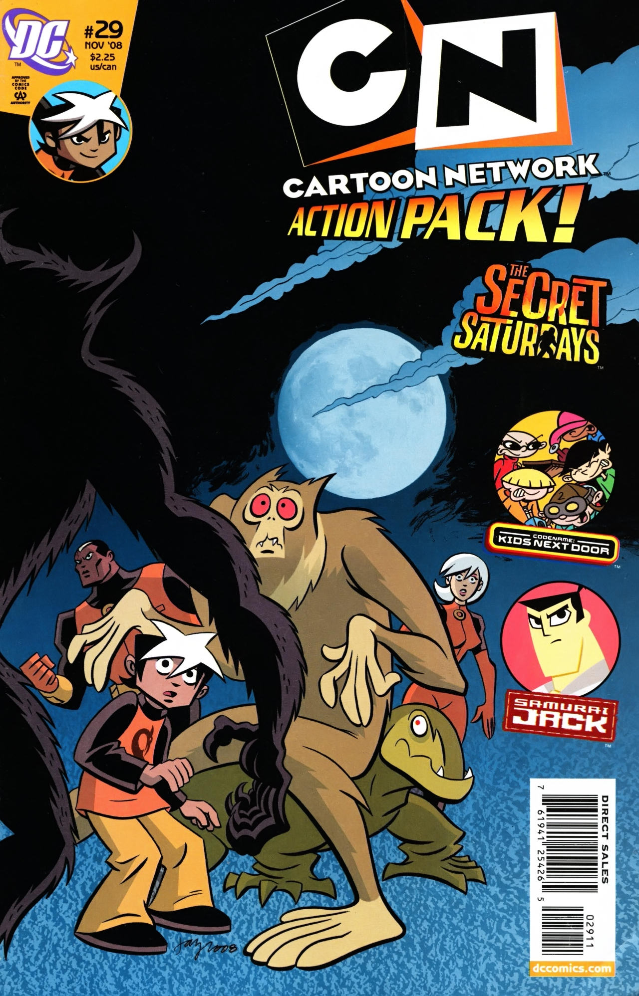 Cartoon Network Action Pack 29 Page 1