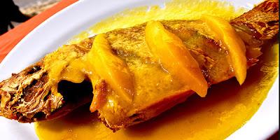 Recetas de cocina pescado en salsa de mango