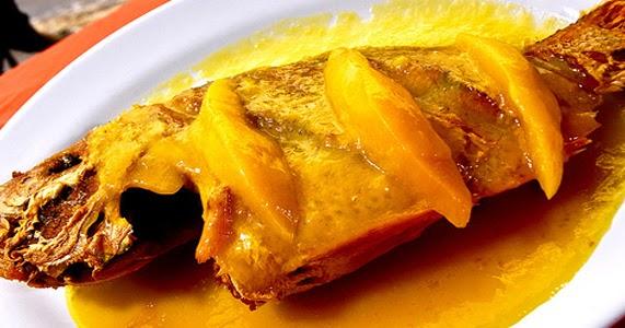 Pescado en salsa de mango recetas de cocina cocinar for Cocinar con mango