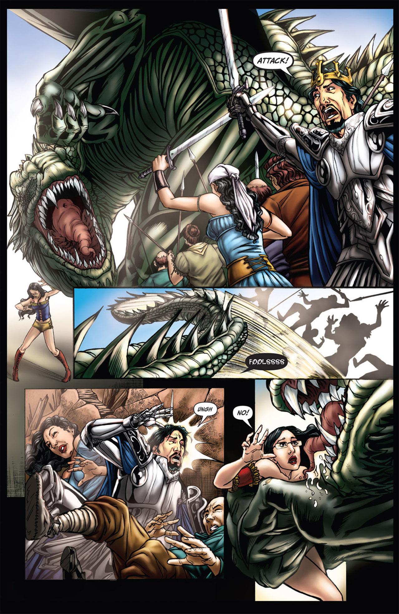 Grimm Fairy Tales (2005) Issue #61 #64 - English 19