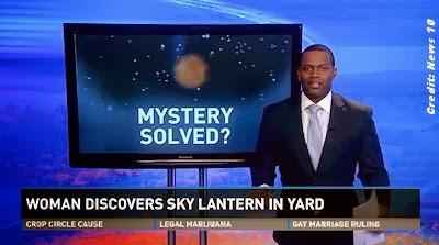 UFO Mystery Over Sacramento Solved?