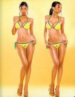 Бразилският модел Алексис Лопес