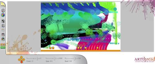 Splash logiciel de peinture en ligne (on line)