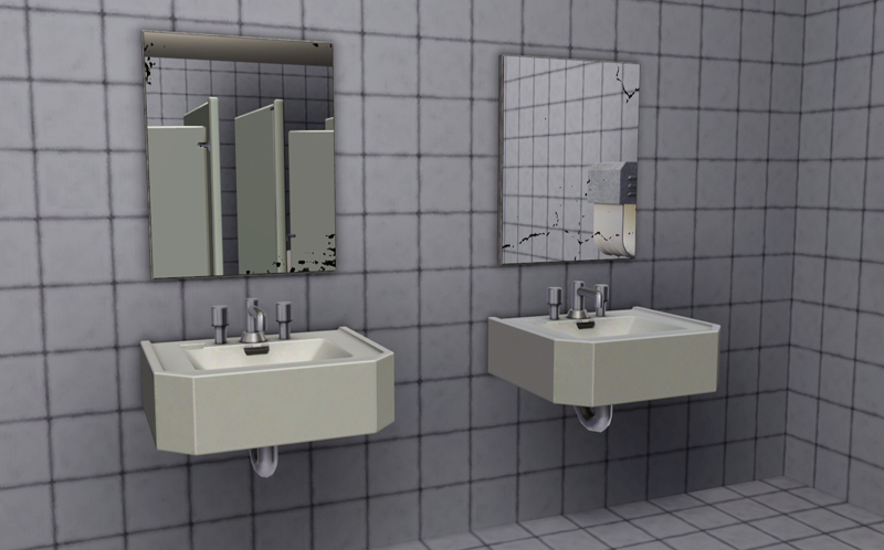 My Sims 3 Blog Public Restroom Mirrors By MacTheKat