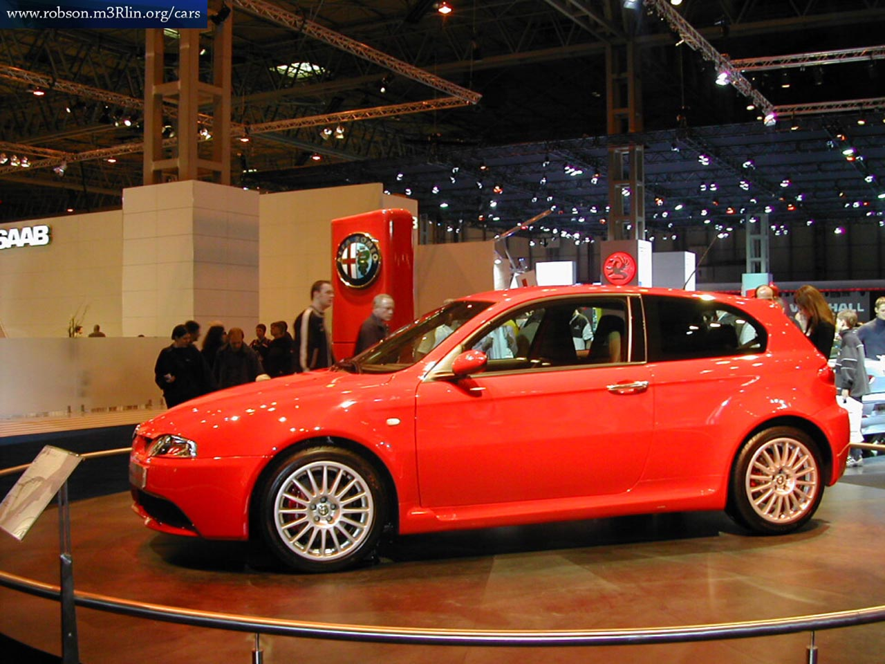 sports car alfa romeo 147 2003. Black Bedroom Furniture Sets. Home Design Ideas