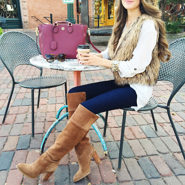 Fall outfit for a coffee date