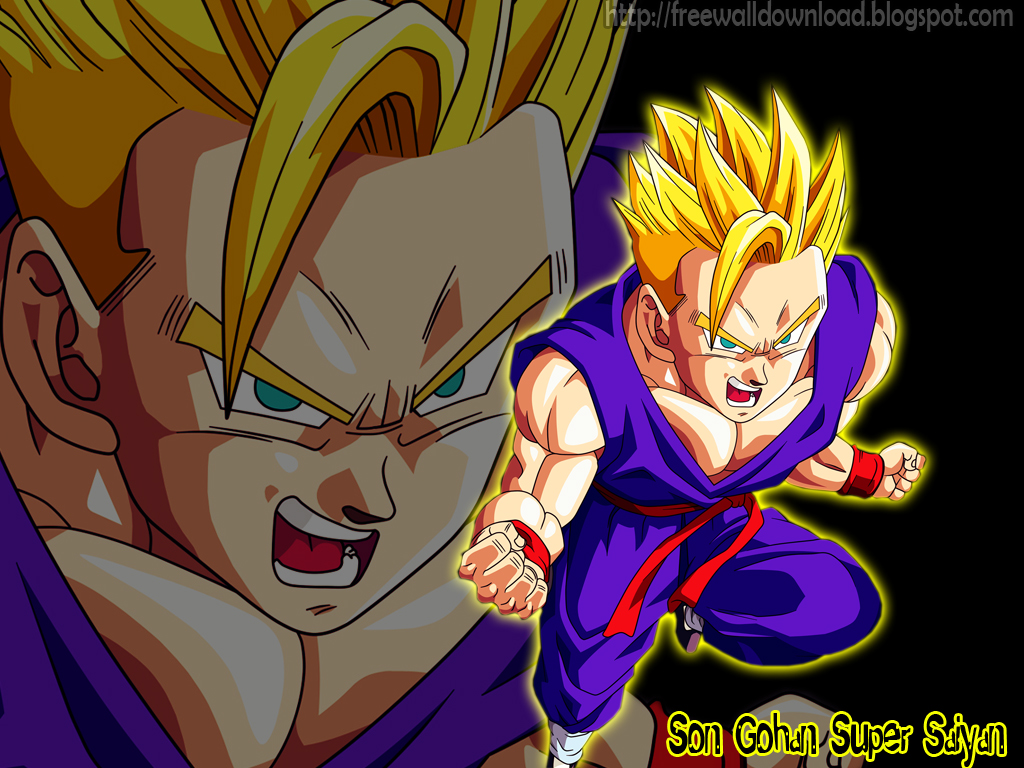 Free wallpaper download - Son gohan super saiyan 4 ...