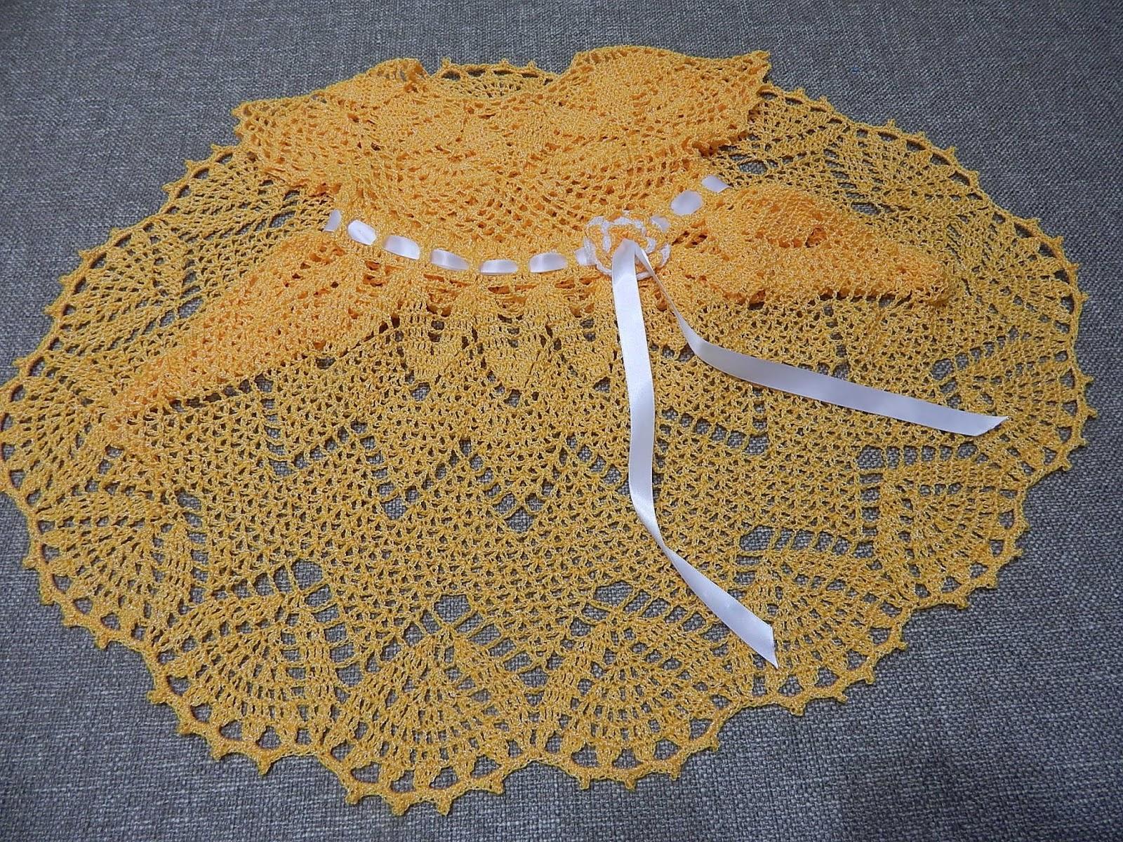 VESTIDO PARA NIÑA Y BEBE ZIG ZAG A CROCHET   Patrones Crochet ...
