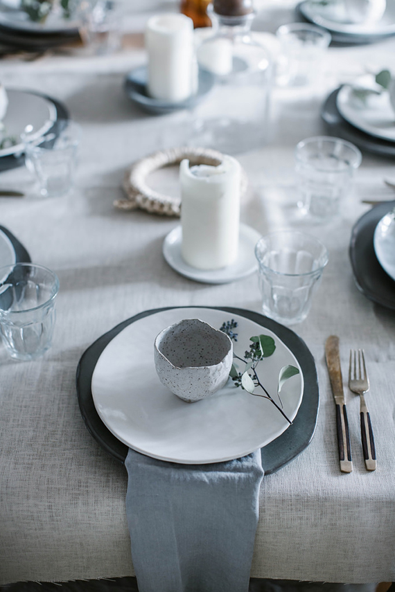 Understated festive table setting ideas | Local Milk