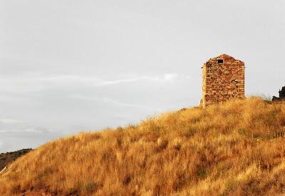 Teroleja - Torre al atadecer