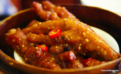 thehomefoodcook - dim sum - chicken feet
