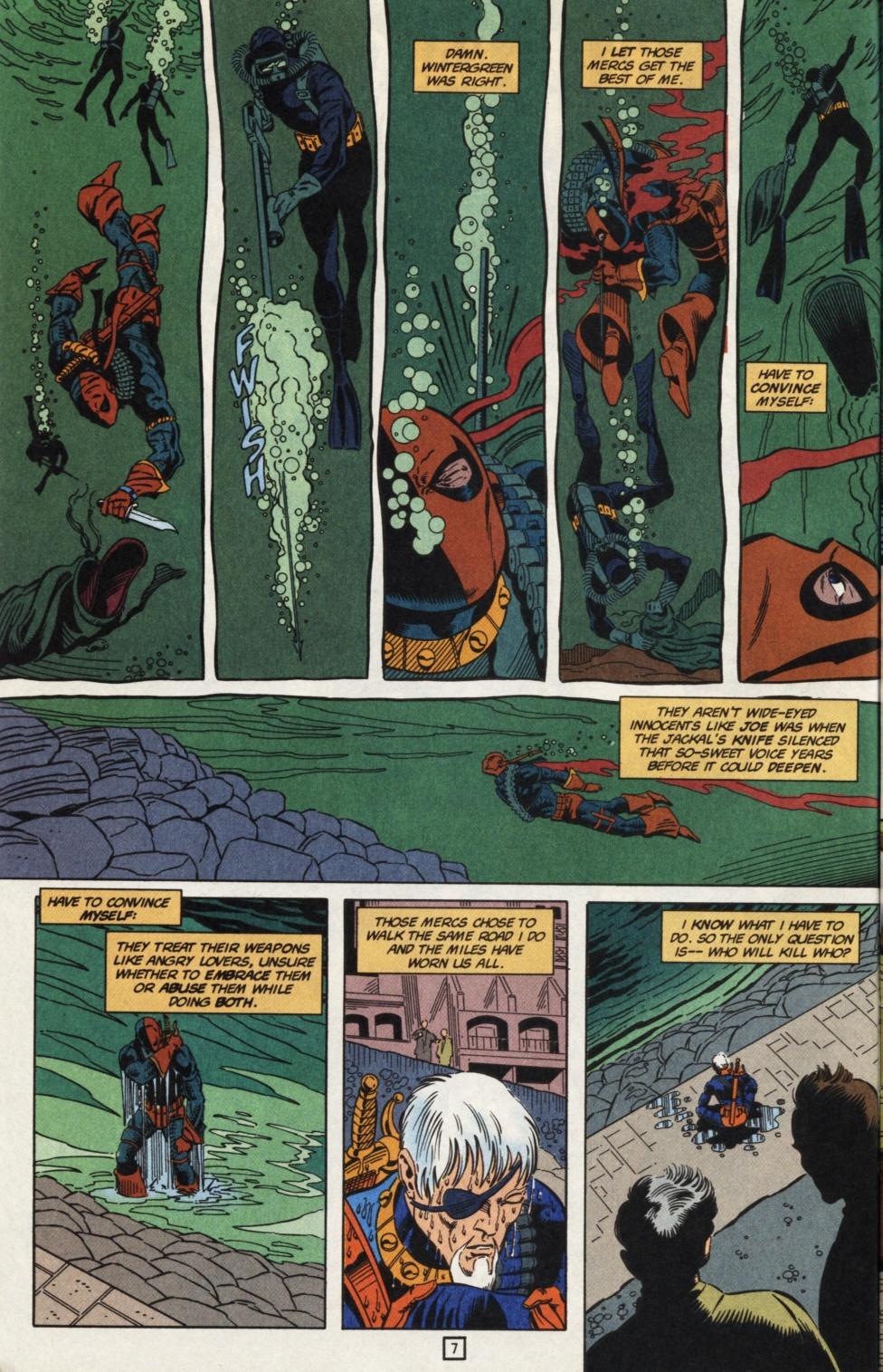 Deathstroke (1991) Issue #31 #36 - English 8