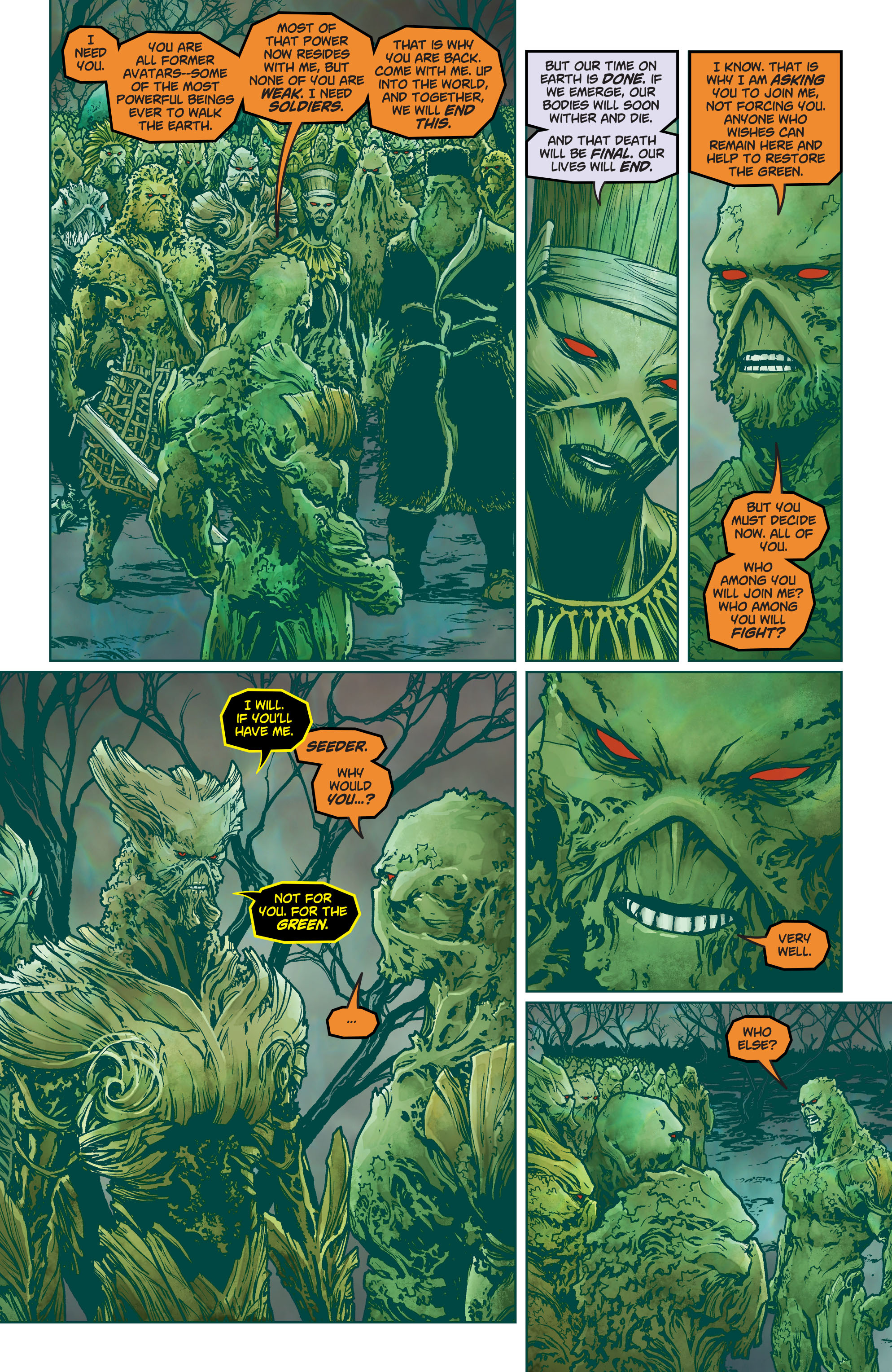 Swamp Thing (2011) Issue #40 #45 - English 8