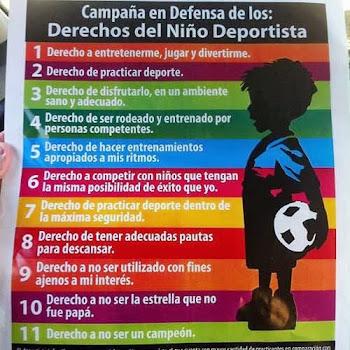 DERECHOS DEL NIÑO DEPORTISTA