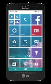 LG Lancets windows phone cdma lte verizon