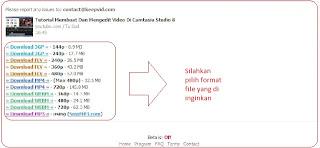 <img alt='langkah terakhir adalah memilih size video dan format video untuk di download dari keepvid' src='http://2.bp.blogspot.com/--3cUhIxo02s/UcwtdH71GSI/AAAAAAAAG2I/I-e0Pi7_APc/s1600/memilih+format+video.jpg'/>