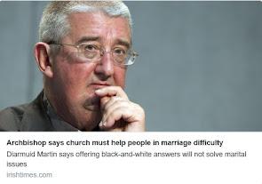 El apostata Diarmuid Martin que apoya las uniones civiles gay, apoya AL.