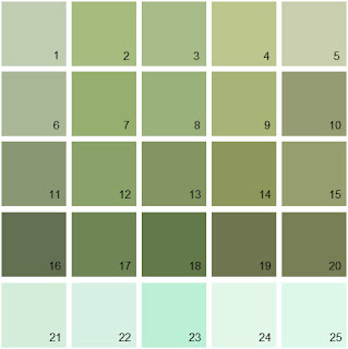 Spring Paint Colors kensington bliss: kelly green inspiration/adventures in paint