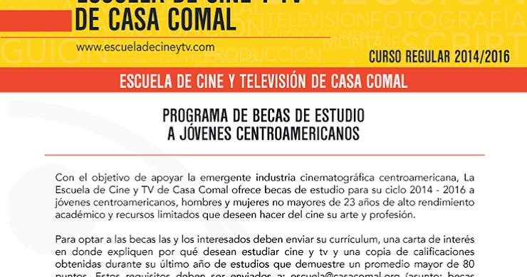 Becas de estudio para jóvenes centroamericanos