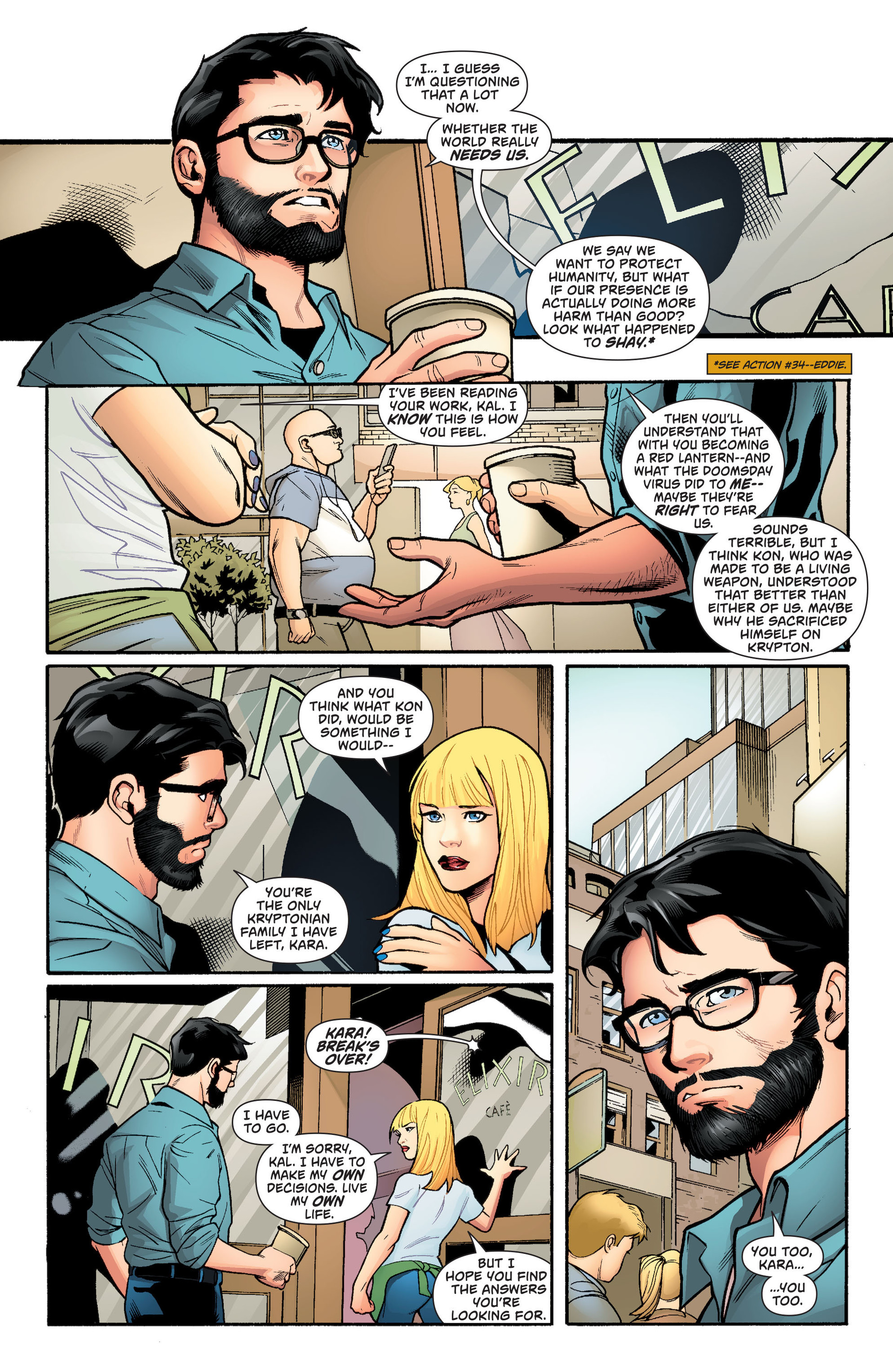 Supergirl (2011) Issue #36 #38 - English 6
