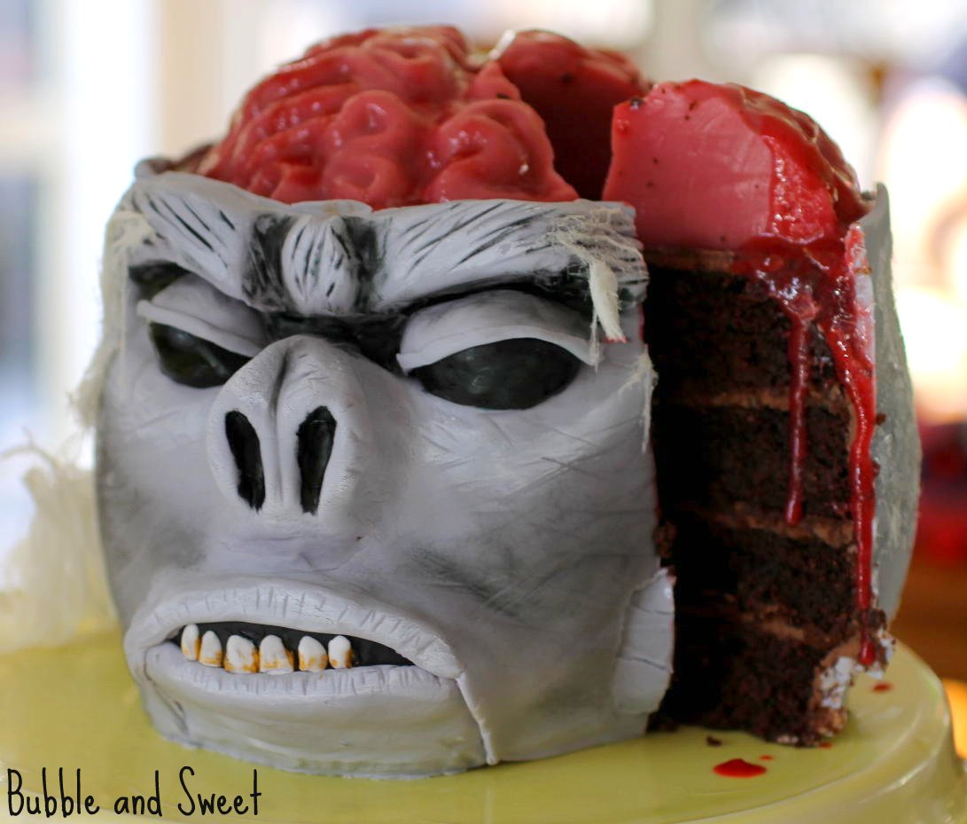 A Cupcake Vending Machine Really together with Spinnen as well Baby Shower Cakes Horrifying as well The Candy Corn Oreo Neither The Ersatz Cookie Of Your Dreams Nor Sugar Bomb Of Your Nightmares also Monkey Brain Cake With Jelly Brain. on gross halloween cupcakes