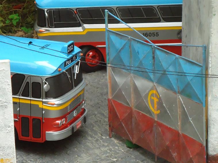 Miniaturas do ônibus Cermava 2ª edição
