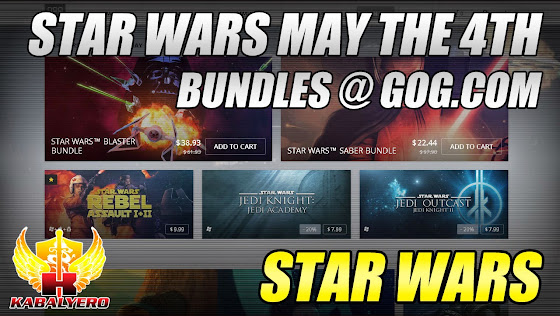 Star Wars Invades GOG.com With Two  May The 4th Bundles