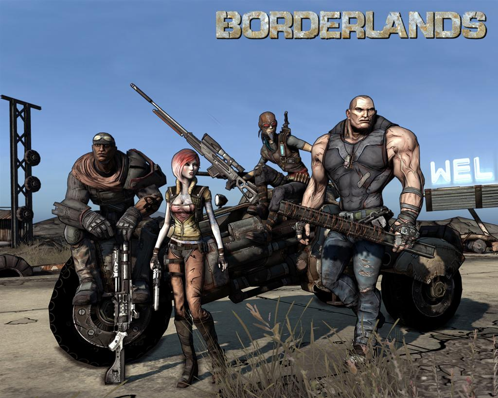 Borderlands HD & Widescreen Wallpaper 0.21182816679516