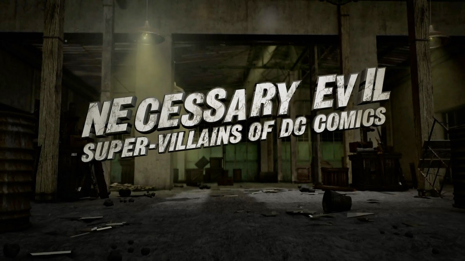Necessary Evil: Super-Villains of DC Comics [1080p. Inglés]