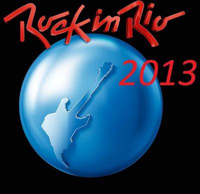 Artistas que se apresentarão no Rock In Rio 20132
