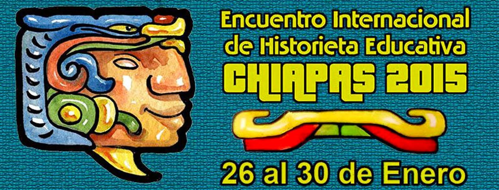 Encuentro Internacional de Historieta Educativa Chiapas 2015
