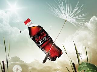 Coca Cola  Zero Bottle Coca Cola Ads