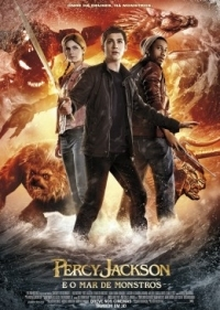 fotocapa Download   Percy Jackson : E o Mar dos Monstros   Dual Áudio (2013)