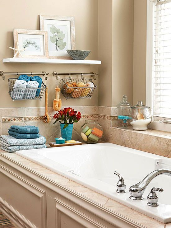 bathtub shelves