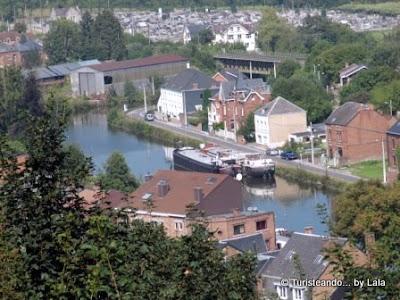 rio sambre, valonia, belgica