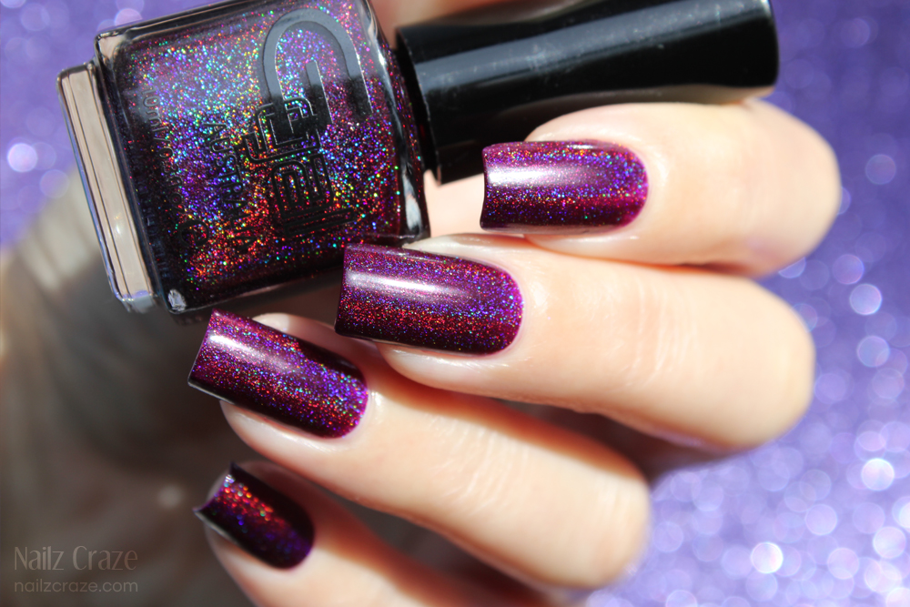 Swatch & Review: Glitter Gal - Transfusion - Nailz Craze