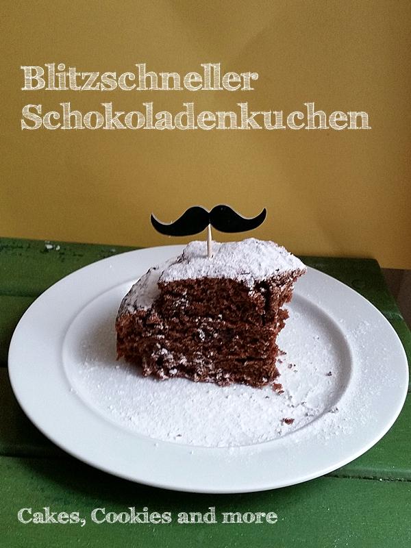 Blitzschneller Schokoladenkuchen