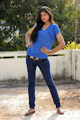 Sneha Tagore Photo shoot in Blue-thumbnail-13