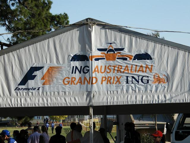 Entrance to the 2008 F1 Australian Grand Prix