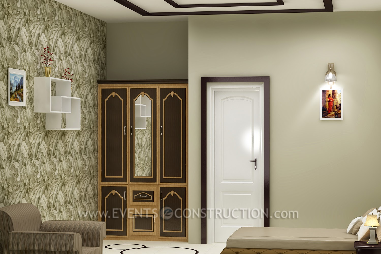 Evens Construction Pvt Ltd Dressing Area In Bedroom
