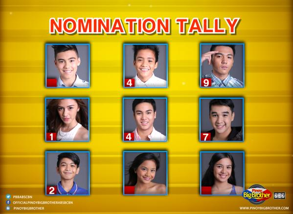 PBB 737 3rd Nomination Night