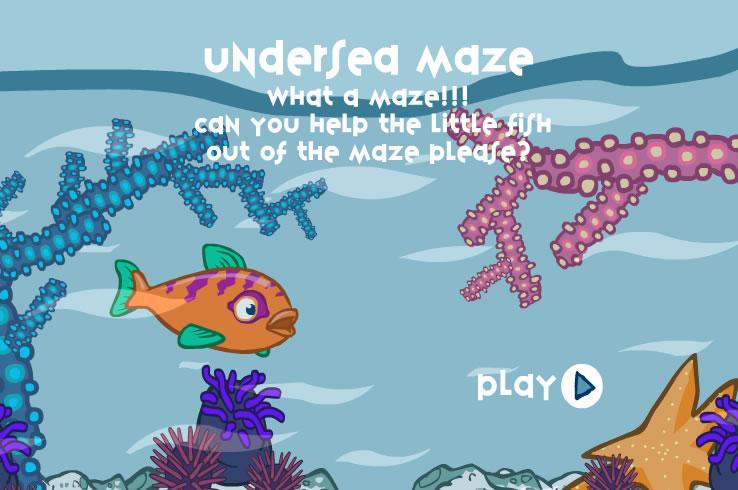Kids Game : Undersea Maze