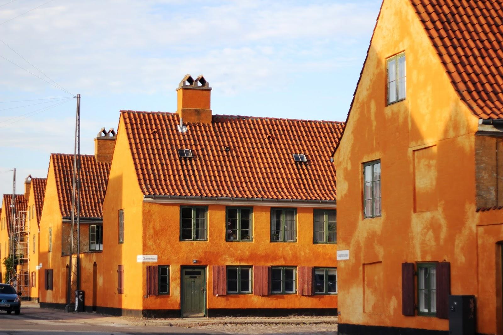 Ichigo Milky Yellow Brick Houses In Copenhagen