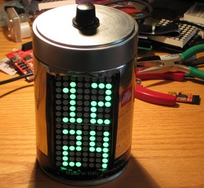 Arduino Based LED Alarm Clock