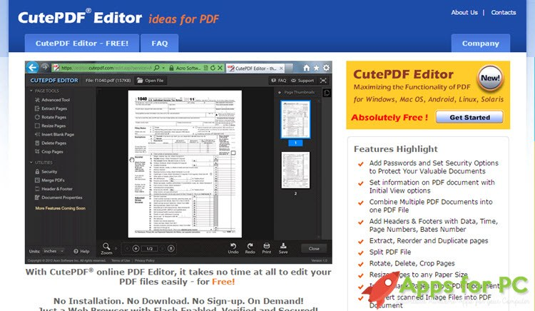 5 best online pdf viewer editor websites for 2017 Best online c ide
