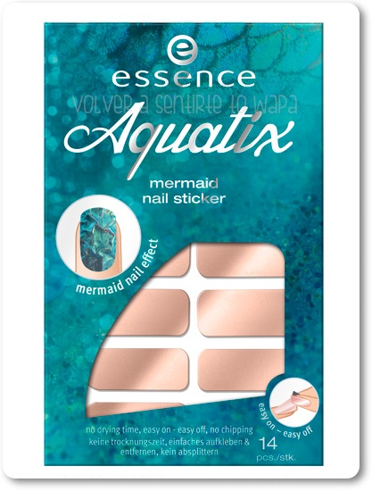 Essence - Aquatix - Mermaid Nail Sticker