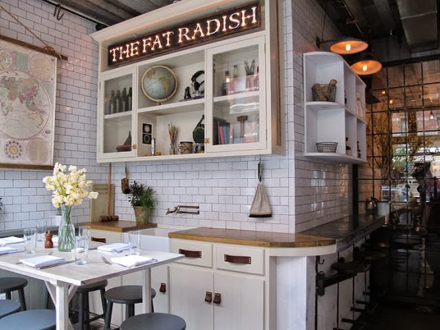 DECORACION RESTAURANTE THE FAT RADISH NUEVA YORK